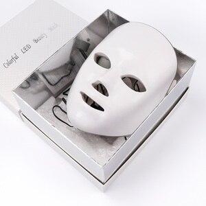 Image 5 - 7 สีแสงPhoton Therapy LEDหน้ากากใบหน้าฟื้นฟูผิวต่อต้านริ้วรอยกำจัดสิวLifting Massagerสปาความงามอุปกรณ์