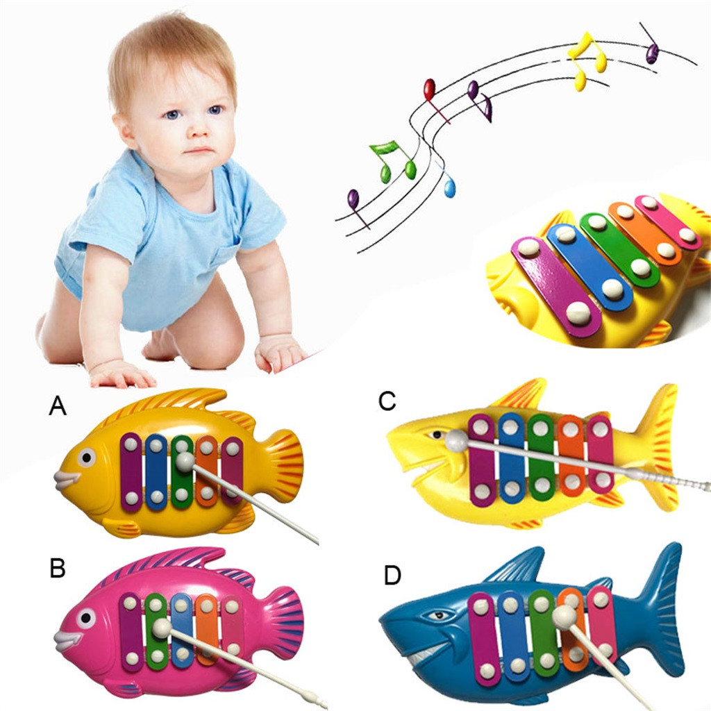 Educational Music Instrument Toys Learning Education Toys Fun Learning Music Development Game Educational Baby Play Toys Y1127