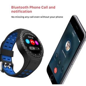 """Image 4 - SCOMAS GPS ساعة ذكية 1.3 """"جولة عرض دعم بلوتوث مكالمة هاتفية GPS البوصلة مراقب معدل ضربات القلب في الهواء الطلق الرياضة Smartwatch"""