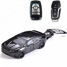 Abs modelo de carro forma caso chave do carro capa fob keyless remoto para ford explorer escape foco borda mustang mondeo f150 taurus escolta