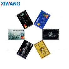 XIWANG USB Flash Drive 32GB Bank card 2.0 Pen drive 128GB 64GB 16GB 8GB 4GB high quality memory stick HSBC credit cards