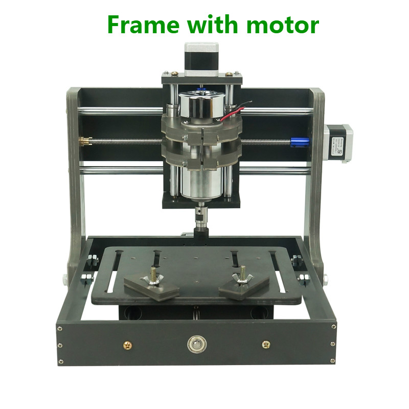 DIY CNC 2020 Frame With Motor For Mini CNC Router Carving Milling Machine 2020