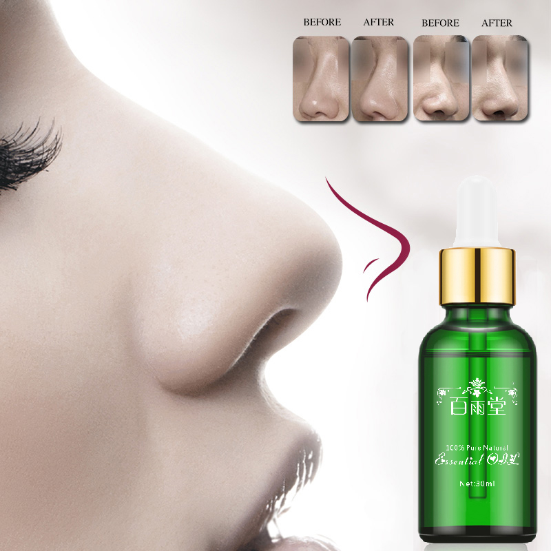 Nose Up Heighten Rhinoplasty Essential Oil 30ml Nasal Bone Rmodeling Pure Natural Nose Care Thin Smaller Nose 100% Effective(China)