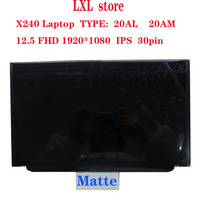 laptop LCD screen for Thinkpad X240 LCD screen panel 12.5 FHD 1920*1080 30pin IPS Matte FRU 00HM111 04X3922 100%test