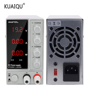 Image 1 - KUAIQU Switching Laboratory Power Supply 30V10A 120V3A 60V 5A Current Voltage Regulator Lab Power Supply Adjustable Bench Source