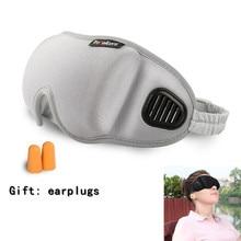 Xmund XD-EM2 3D Eye Mask Comfort Breathable Unisex Sleep Rest Sleeping Blindfold Portable Camping Travel Eye Patch With Earplug