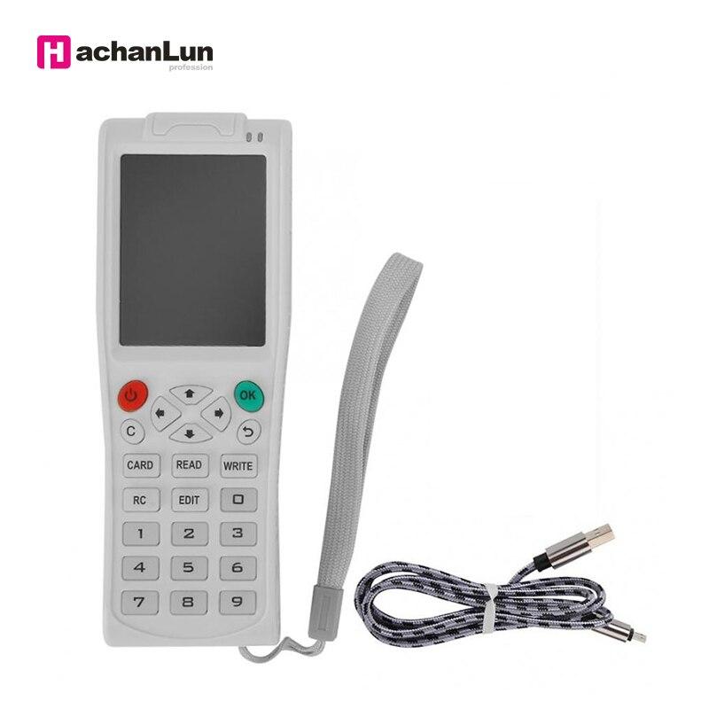 Newest ICopy5 With Full Decode Function Smart Card Key ICopy 3/5 NFC IC Copier RFID ID Reader Writer Duplicator English Version