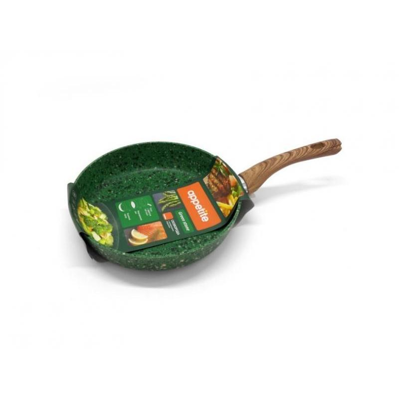 Frying Pan APPETITE, GREEN STONE, 28 Cm