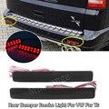 Из 2 предметов задний бампер дыма светильник для VW для T5 транспортер для Caravelle Multivan 03-11 хвост светильник тормозной светильник хвост светильн...