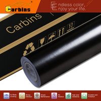 Carbins 1.52x18m Black New Satin Chrome Vinyl Car wrap film Air Bubble Free Car Body Wrapping vinyl Sticker Decals