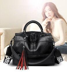Sacs à bandoulière femmes 2020 mode haute qualité en cuir pu sacs à main pour les femmes noir shopping sacs à main pour les filles