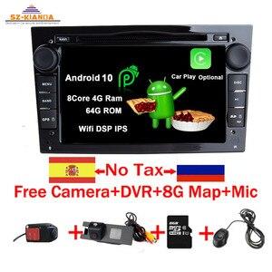 Android 10.0 CAR GPS for Opel Vauxhall Astra H G J Vectra Antara Zafira Corsa Vivaro Meriva Veda Wifi Bluetooth RadioDVD PLAYER