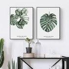 Watercolor Plant Lea...