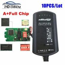 10pcs/Lot Adblue 9 IN 1 Works 9 Truck Add For CUMMINSElectronic Module Heavy Duty Ad Blue Emulator