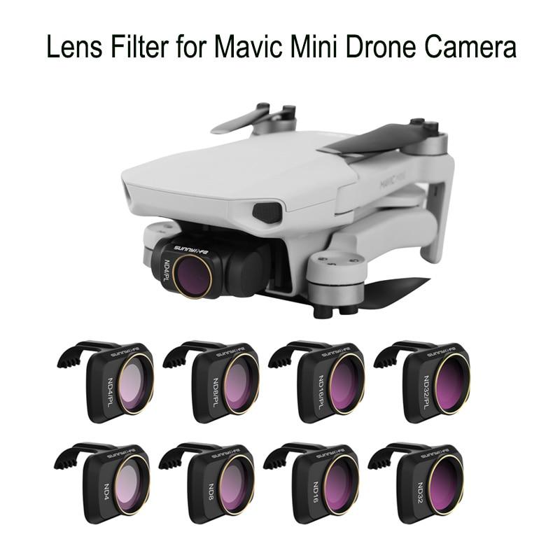 Camera Lens Filter ND4 ND8 ND16 ND32 HD Lens Filter for DJI Mavic Mini Drone