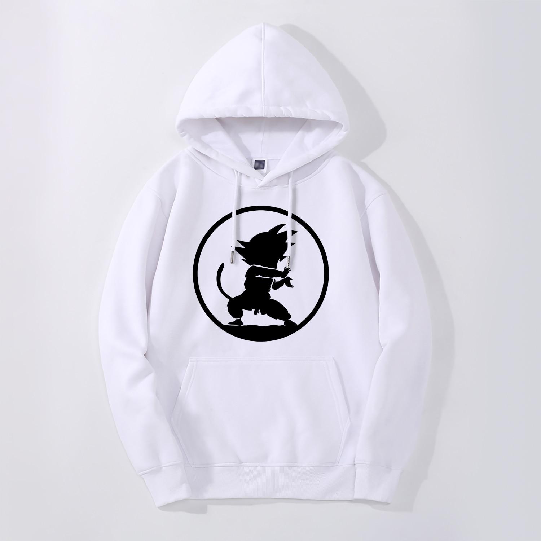 Dragon Ball Japan Anime Print Mens Hoodies New Cool 2019 New Fashion Casual Streetwear High Quality Hip Hop Fitness Sportswear