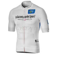 2019 Pro Team Men #8217 s Tour De Italy D #8217 ITALIA Cycling Jerseys Short Sleeve Bike Jersey Cycling Bicycle Shirts Clothing For Men cheap Polyester Stretch Spandex Cycling jersey Only summer Spring Full Zipper Fits smaller than usual Please check this store s sizing info