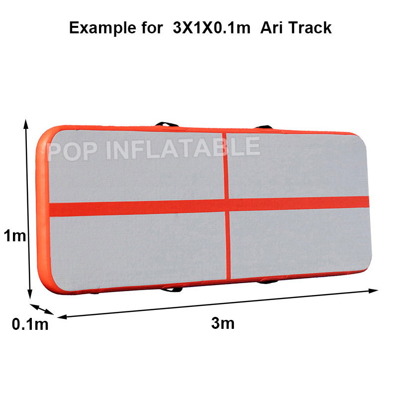 Closeout DealsMattress Tumbling-Mat Air-Track Floor Gym Inflatable-Gymnastic Indoor Adult 3m 4m