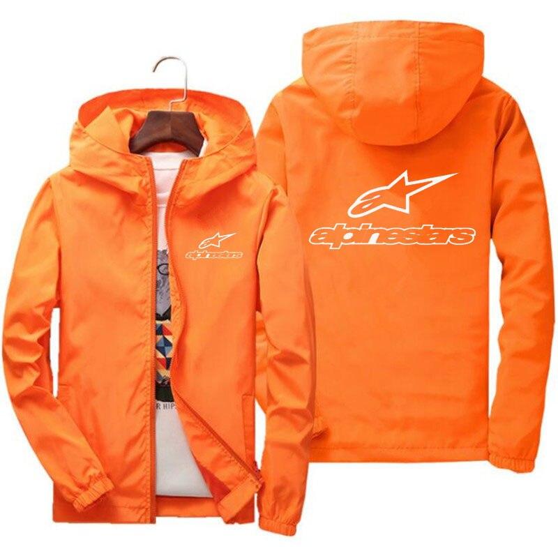 2020 primavera e verão nova alta montanha estrela jaqueta de rua dos homens blusão com capuz zíper fino jaqueta masculina jaqueta casual 7xl 4