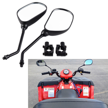 For 22mm Universal ATV Rear View Side Mirrors For Can-Am DS250 Outlander 500 570 650 800 850 1000