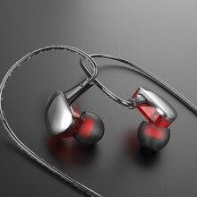 Olhveitra Noise Cancelling Verdrahtete Kopfhörer In Ohr 3,5mm Für Handy 3,5 Ohrhörer Bass Stereo Headset Gamer Handfree Mit mic