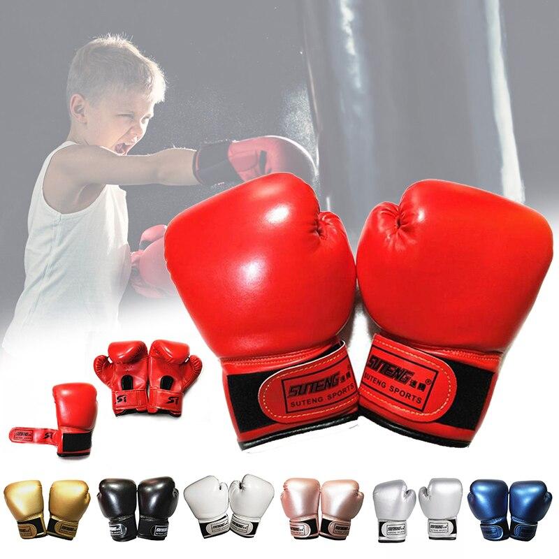 2pcs Kids Boxing Gloves For Fun Muay Thai Fight Sanda Martial Arts Bag Punching Training Mitts Fighting Kickboxing Boxing Gloves    - AliExpress