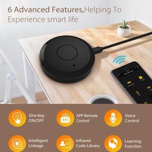 Image 4 - Tuya WiFi IR uzaktan kumanda Hub WiFi akıllı ev kızılötesi evrensel uzaktan kumanda klima TV Alexa Google ev için