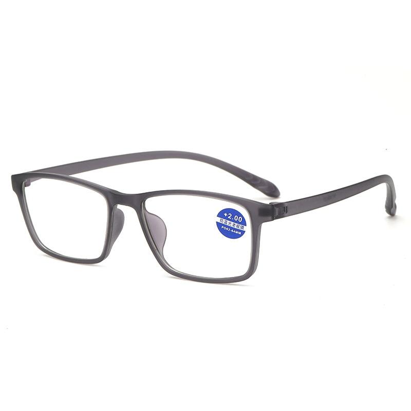1PC Unisex Reading Glasses Lightweight Transparent Elders Reading Glasses  Presbyopic Eyeglasses Hyperopia Glasses +2.0