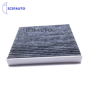 Carbon Cabin Air Filter for Hyundai kona Veloster Tucson 16-19 Kia Sportage 17-20 Soul 1.6 1.8 2.0L 97133-D1000 image