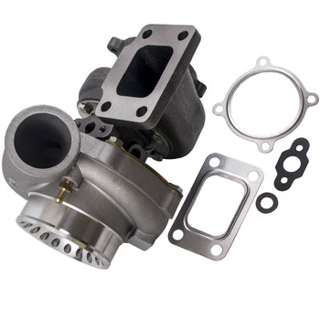 цена на Anti-Surge Compressor Turbo GT35 GT3582 journal bearing T3 T4 Turbocharger Turbocompressor Turbine For 3.0L-6.0L engines
