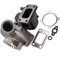 Sprężarka przeciwprzepięciowa Turbo GT35 GT3582 łożysko poprzeczne T3 T4 turbosprężarka turbosprężarka turbina do silników 3.0L 6.0L w Turboładowarki i części od Samochody i motocykle na