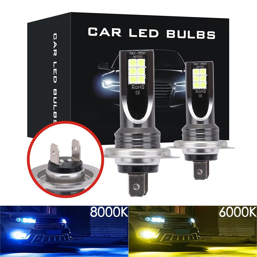 H11 LED Antiniebla Bombillas 2 L/ámparas Bombilla de Luz Antiniebla para Coche 12V 6000K Blanco Koyoso H8 2000LM Bombillas