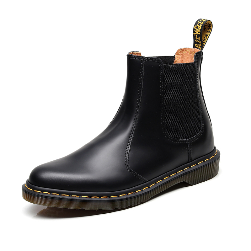 Punk Men Designer Shoes Genuine Leather Women Doc Martens Martin Boots Work Motorcycle Boots Winter Snow Boots Zapatos De Mujer Winter Boots For Women
