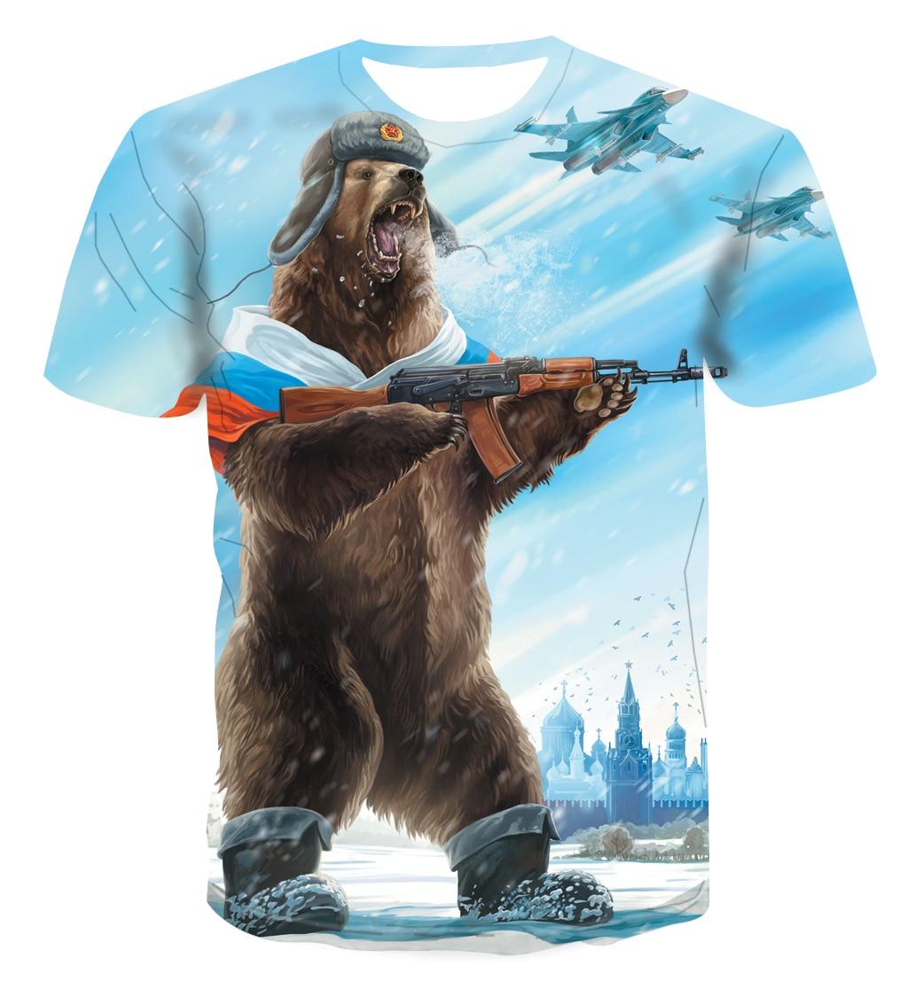 2019 New Men T-shirt  3D Printed Men/women Black Fashion Style Short Sleeves Men's Summer Casual Breathable Big Yards T-shirt