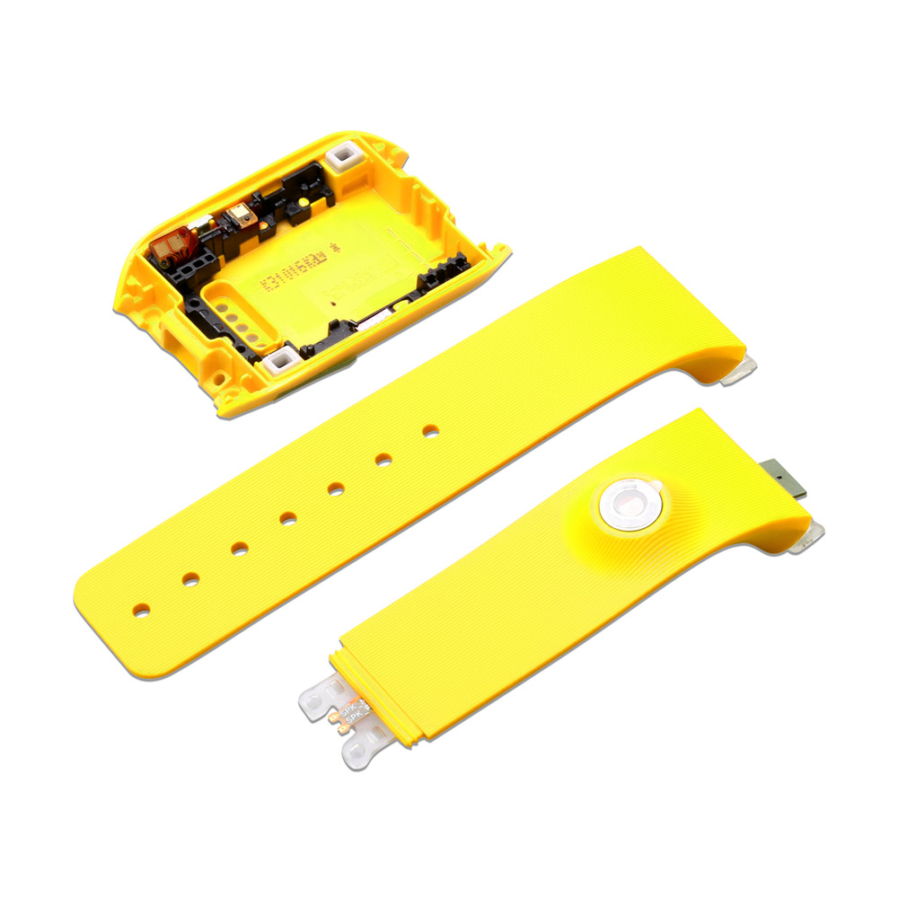 Watch Back Housing Cover Watchband for Samsung Gear SM-V700 Watch Accessories Watch Bracelet Strap Watch Rear Case