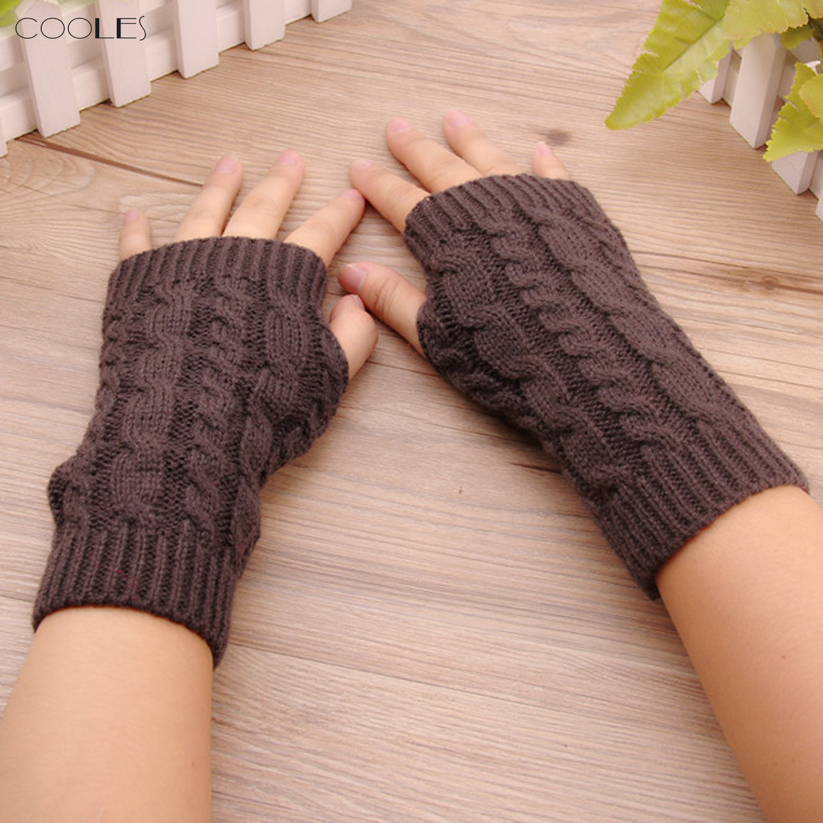 Gloves Women's Winter Knitted Stretch Keep Warm Riding Gloves With Mobile Phone Guantes Pull Femme Hiver перчатки зимние #2587