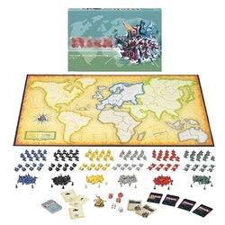 ألعاب لوحية لاستراتيجية الهيمنة العالمية لعبة لوح خطر الحرب ألعاب طاولة ريسيكو/ريسكو 2-6 لاعبين 30 دقيقة إصدار إنجليزي