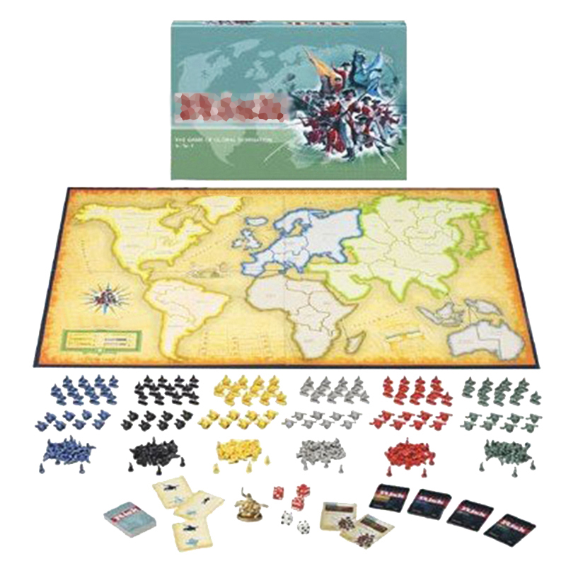 Global Domination Strategy Board Games RISK War Board Game Risico/Risco Table Games 2-6 Players 30min English Version