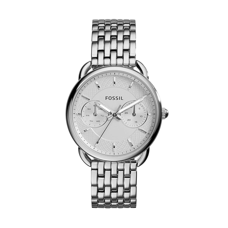 Fossil Women's Watch Tailor Multifunction Stainless Steel Watch Luxury Wrist Watches For Ladies ES3712