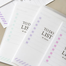 Memo Pads Self-adhesive To Do List 40 Sheets 0ffice School Note With Plasitc Hard Cover Small Planner