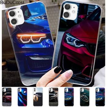 Bmw Blue Red Sport Car Phone Case for iPhone 11 pro XS MAX 8 7 6 6S Plus X 5 5S SE XR case image