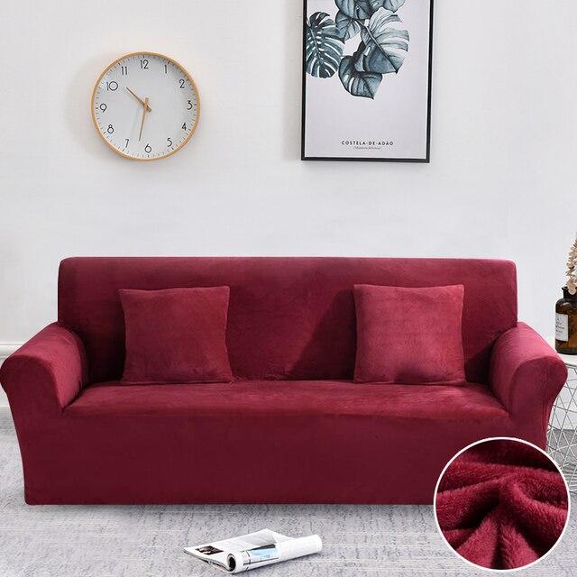 غطاء أريكة سميكة أفخم شامل غطاء أريكة s لغرفة المعيشة لينة غطاء أريكة أريكة منشفة الغلاف 1/2/3/4 مقاعد أريكة cubre
