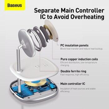 Baseus 2 в 1 магнитное беспроводное зарядное устройство 20 Вт 5
