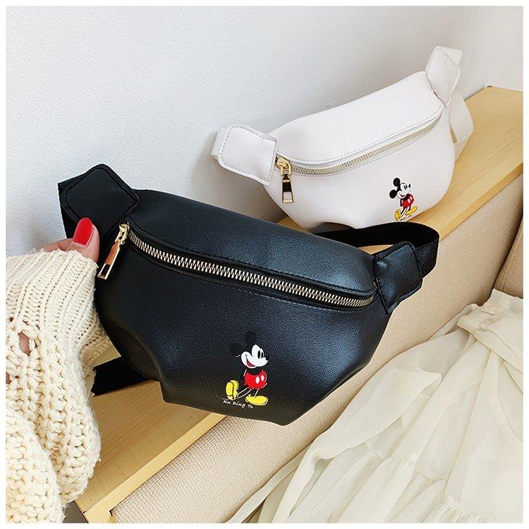 Mini Bags For Women 2020 Children Cute Waist Pack Cute Mickey Belt Bags Waterproof Kids Shoulder Crossbody Chest Bag Fanny Pack