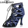 LOOGTSHON Latin water platform dancing shoes woman fashion shoes High Heels Jazz Shoes dance shoes for girls