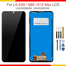 For LG Q60 / K50 Original LCD Display Touch Screen Digitizer Assembly Replacement For LG Q60/K50/K12 Max LCD Repair Parts