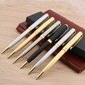 1 шт. NER CHOUXIONGLUWEI серебряный золотой цвет металлическая Подарочная шариковая ручка