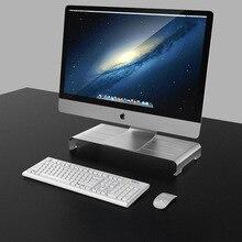 Большой алюминиевый сплав дисплей высота хранения кронштейн держатель для ноутбука компьютер поддержка дисплей высота кронштейн