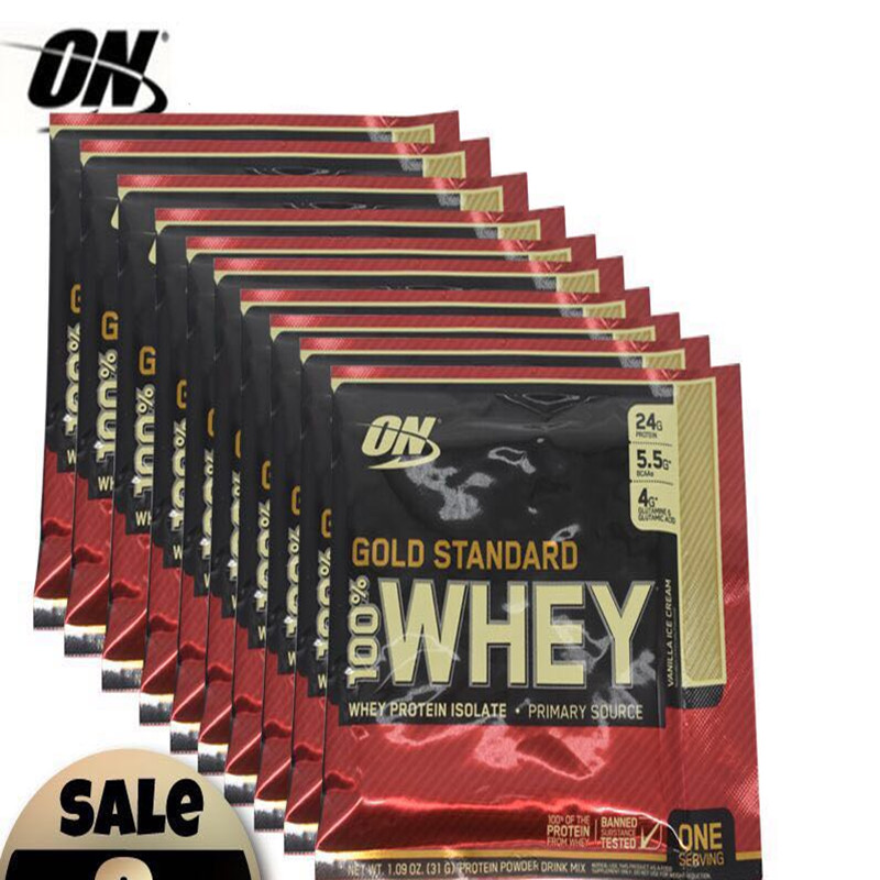 ON Optmont whey protein powder whey sports fitness supplement 1bag of 30g US imports, authentic guarantees. Free shipping image
