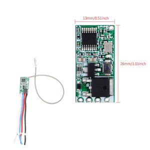 Image 4 - QIACHIP 5pcs 433.92Mhz Universal Wireless DC 3.6V 24V Remote Control Switch 1 CH RF Relay Receiver LED Light Controller DIY Kit